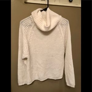 Sweaters - Off White cowl neck sweater